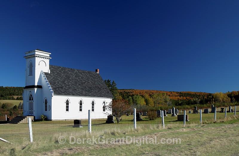 Knox United Church Markhamville New Brunswick Canada - Churches of New Brunswick