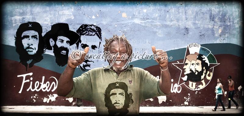 Supporter's Smile - Cuba