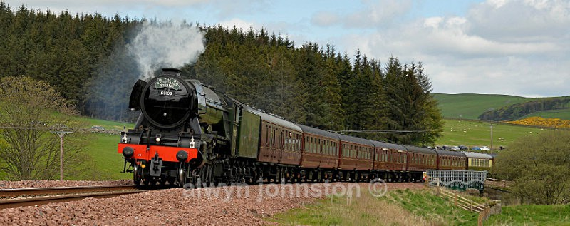 Flying Scotsman - WAVERLEY LINE 2012-2015