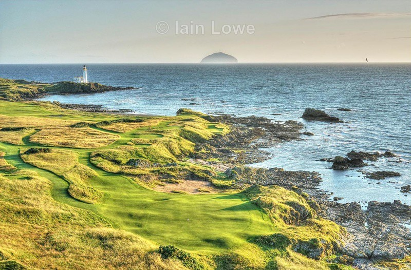 Turnberry 11th Green to Tee - Trump Turnberry 2016 - 2017