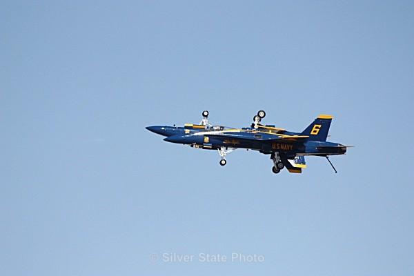 Blue Angels (look close - 2 planes) - Nevada Birds
