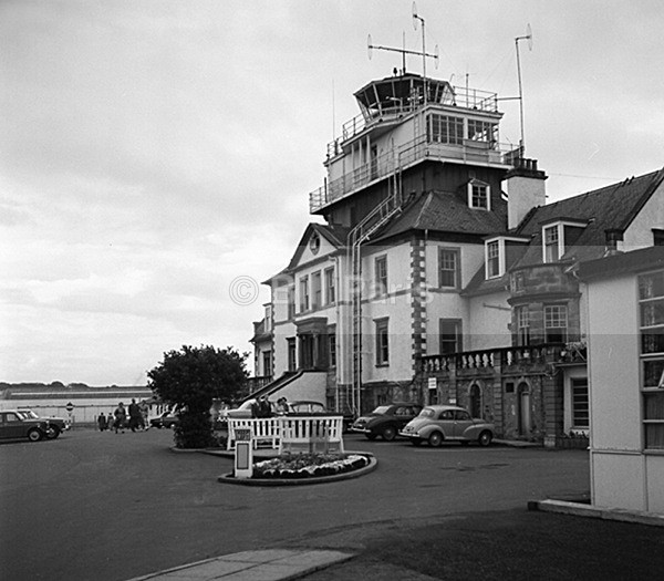 Prestwick Airport Tower 1960 - Archive.