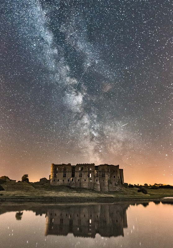 Of Space And Time - Carew Castle - Astro / Night