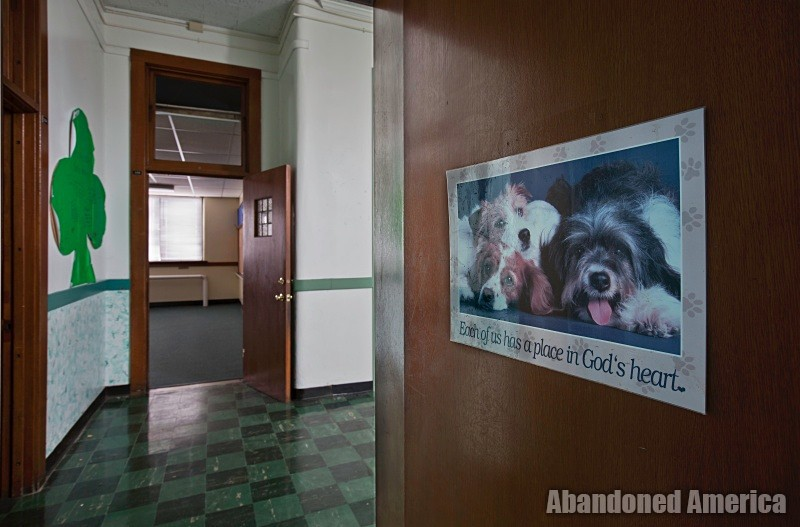 st. margaret mary catholic school, rochester new york - photographs by matthew christopher murray of abandoned america