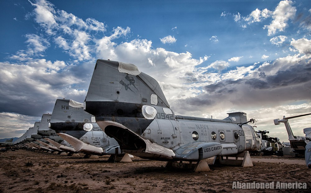 - AMARG: Davis-Monthan Air Force Base