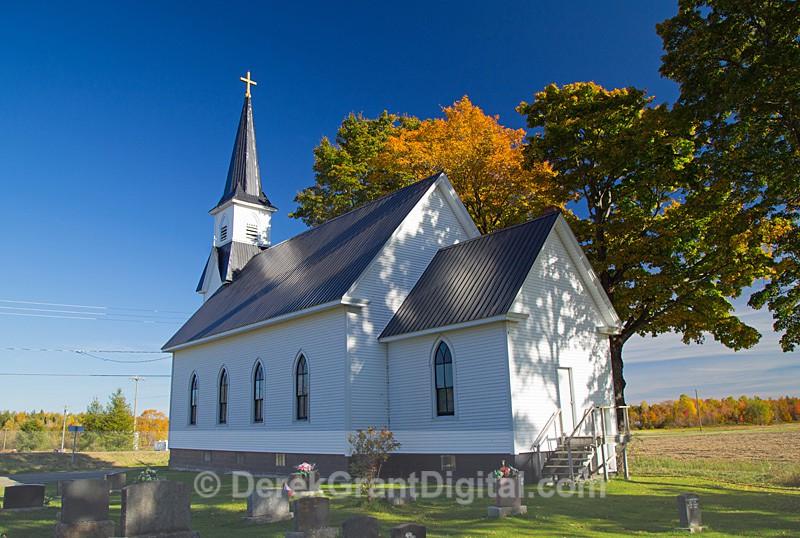 St. Bonaventure's Catholic Church Lakeville New Brunswick Canada - Churches of New Brunswick