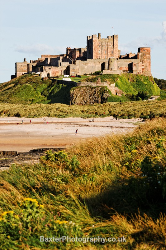 Bamburgh Castle (Portrait) - Northumberland