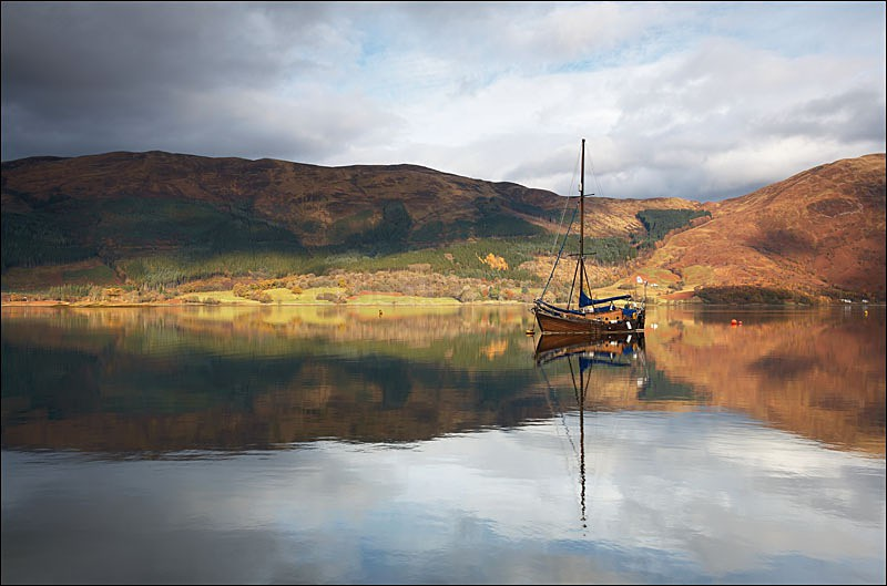Loch Leven - Photographs of Scotland