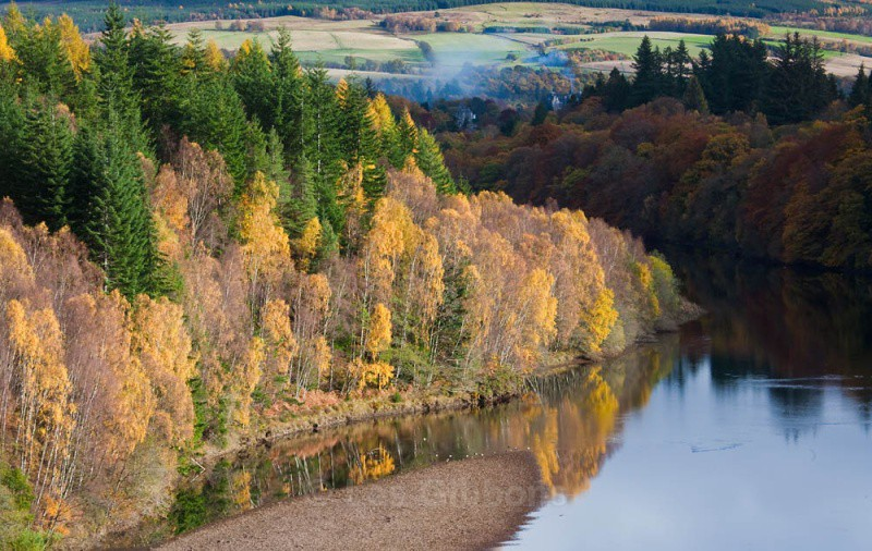 toward Pitlochry - Perthshire