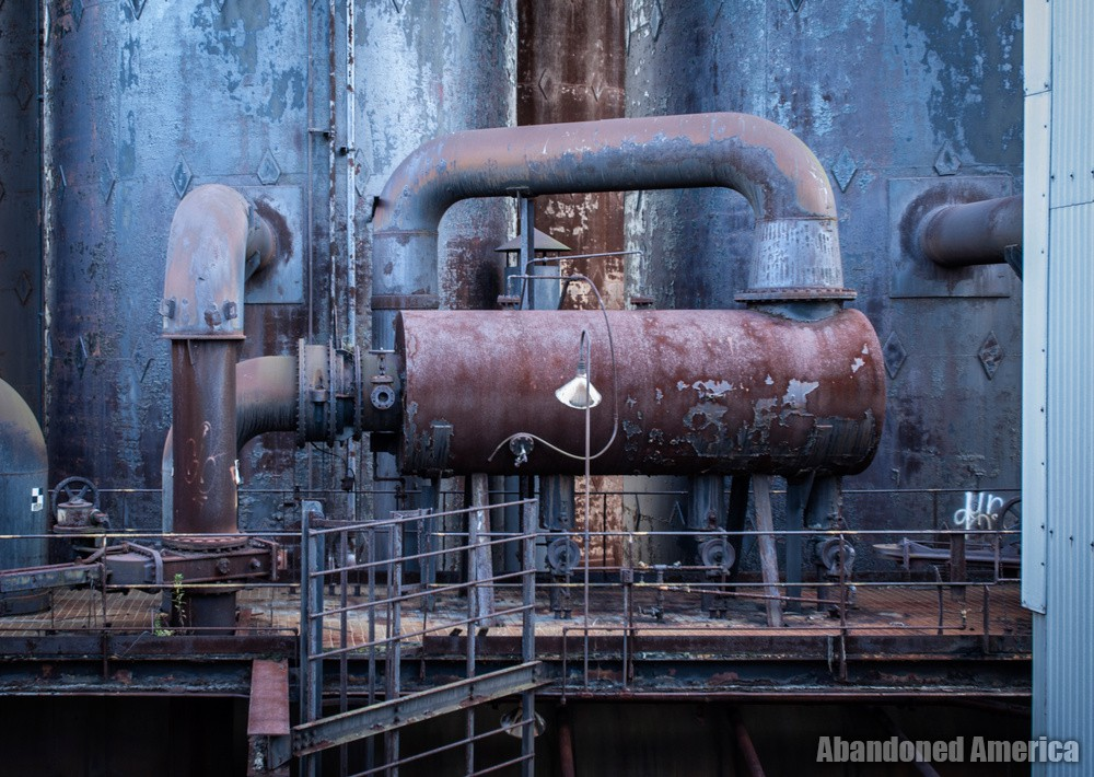 Carrie Furnaces (Rankin, PA) | Catwalk Detail - Carrie Furnaces