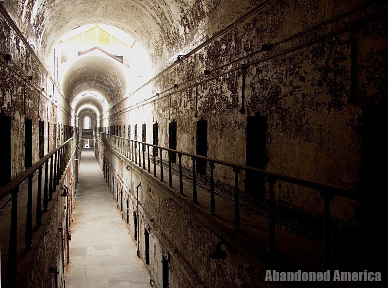Eastern State Penitentiary - Matthew Christopher's Abandoned America