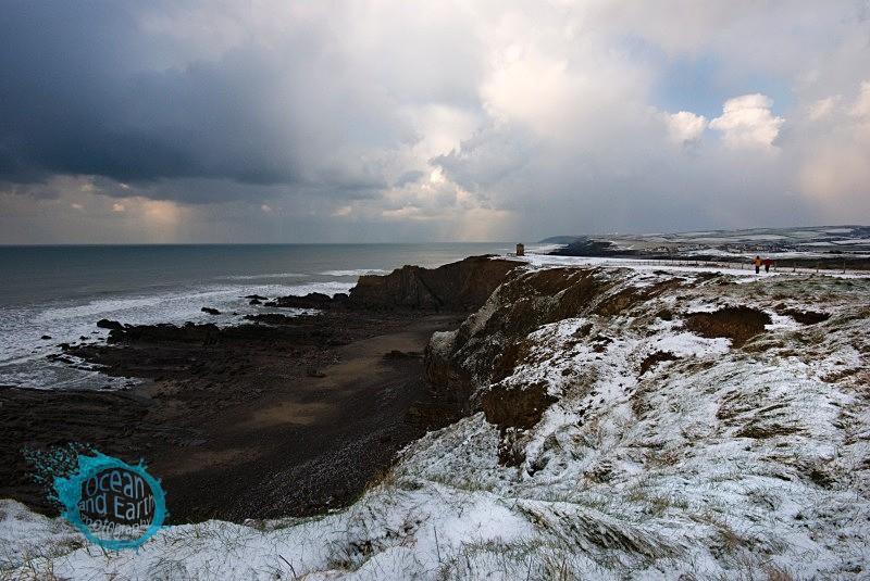 Coastal Snow Storm - Landscapes