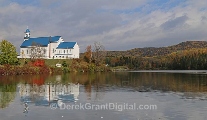 Baker Lake Catholic Church, Lac Baker New Brunswick, Canada - Churches of New Brunswick