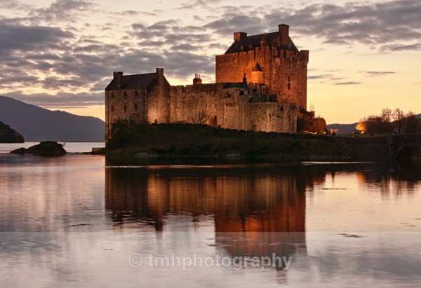 Eileen Donan Castle,. - Landscape