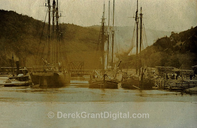 Alma Harbour New Brunswick Canada - Historic New Brunswick