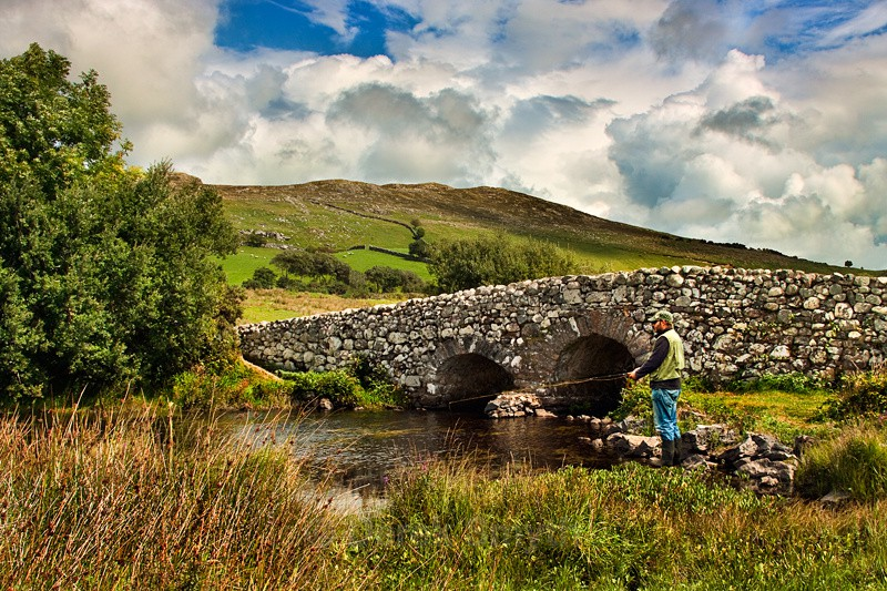The Quiet Man Bridge - Connemara - County Galway