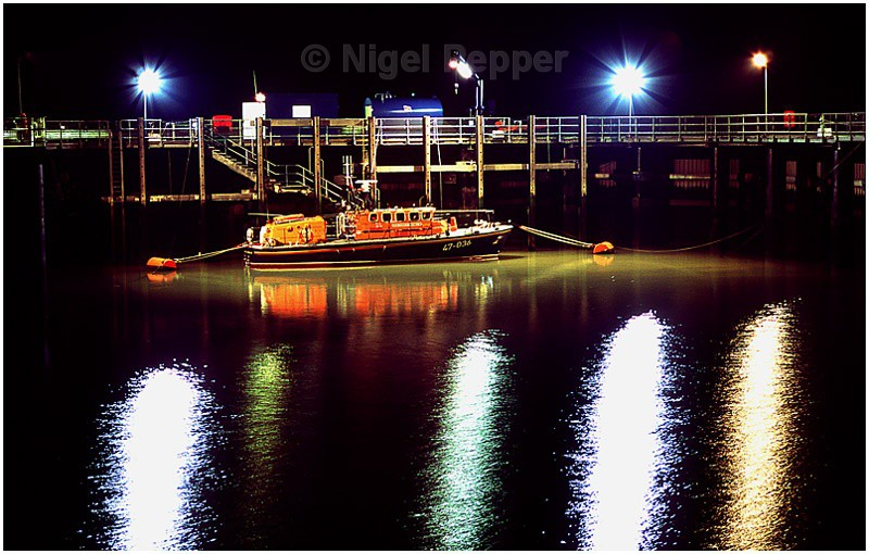 Lifeboat at Night (1) - Lifeboats