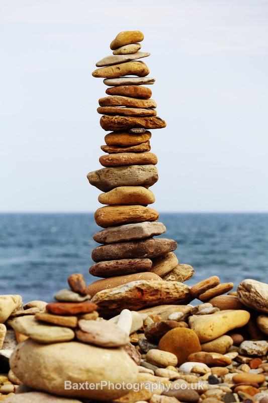 Stacking Stones - Northumberland