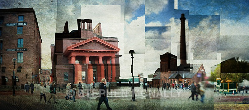 Albert Dock - Photographic Cubism