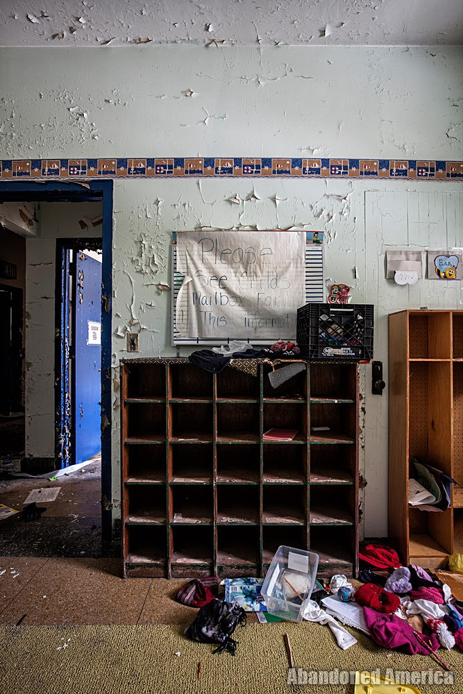 Rockland State Hospital (Orangeburg, NY) | Day Care Cubby - Rockland State Hospital