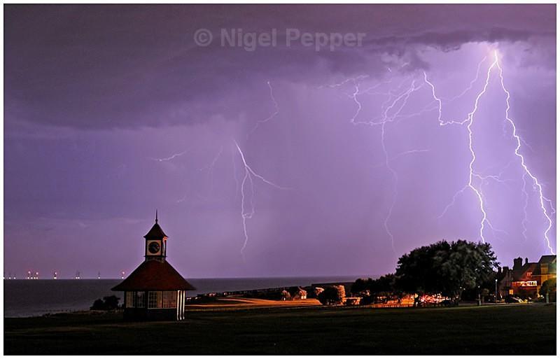 Lightning over Frinton (1) - Dramatic Weather