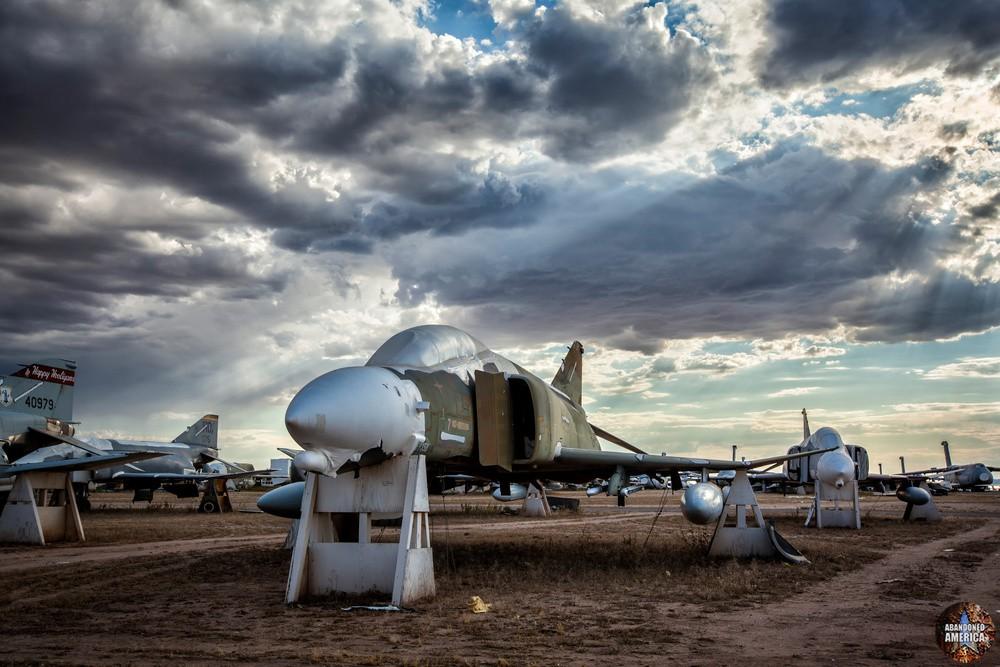 F4 Phantom at AMARG Aerospace Reclamation and Maintenance Group, Tucson AZ - Matthew Christopher Murray's Abandoned America