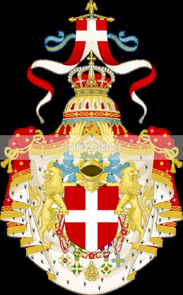 King of Italy - Heritage Family Name and Coat of Arms Store