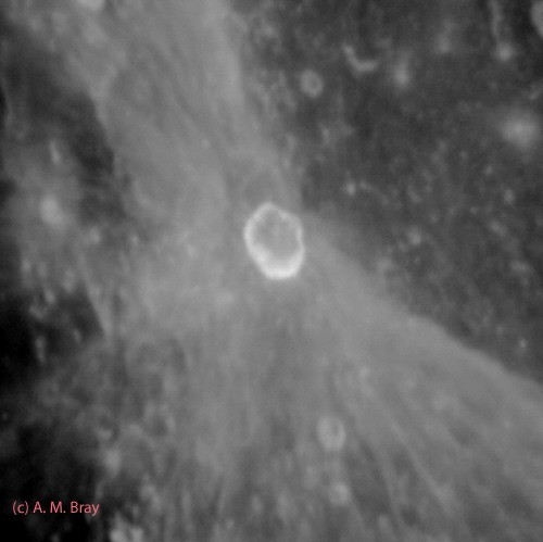 Proclus ray crater