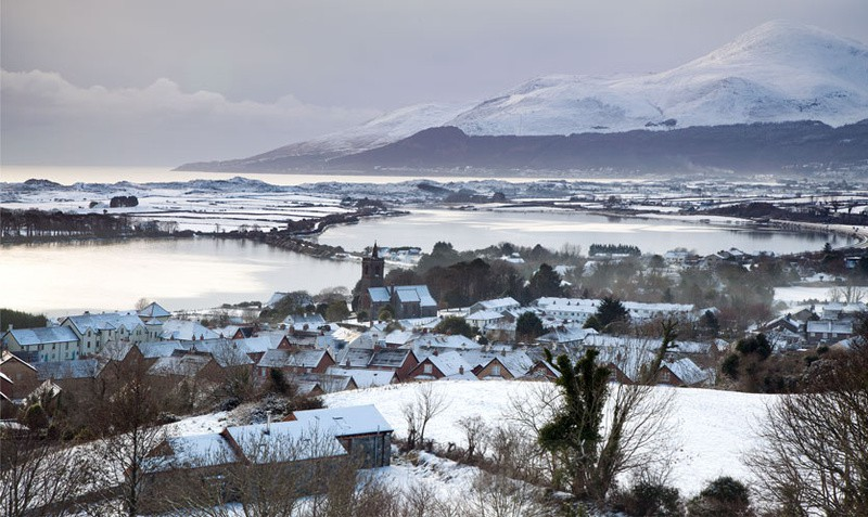 Dundrum Bay - The Mourne Mountains (Winter)