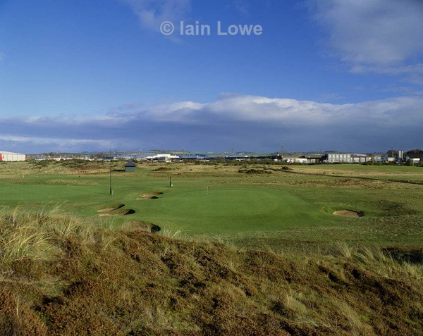 Prestwick 5th Green - Prestwick Golf Links
