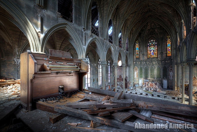 'the hymn of the unwanted': Church of the Assumption of the Blessed Virgin Mary (Philadelphia PA) | Abandoned America