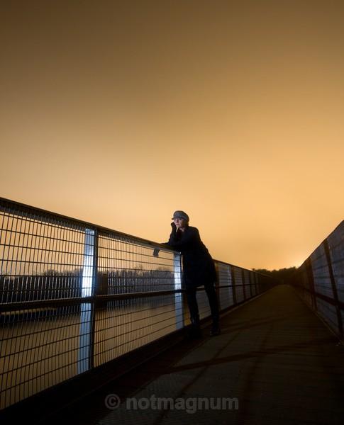 waiting on a bridge - SELF PORTRAITS