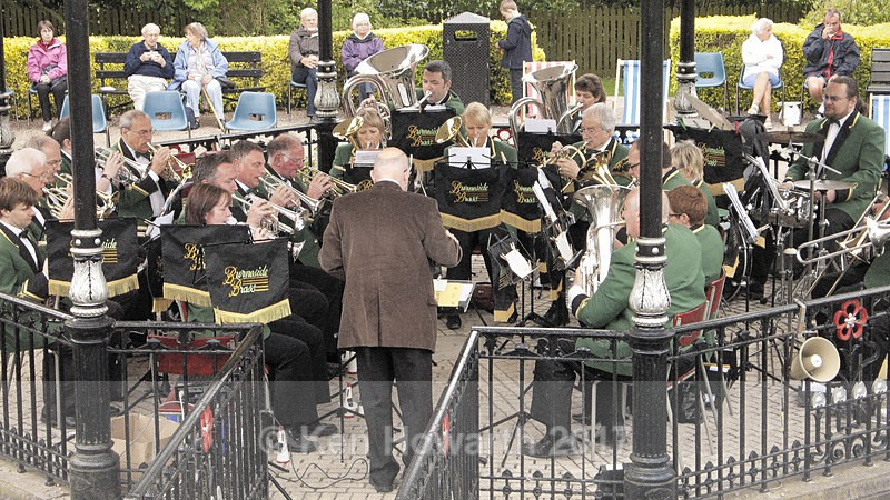 Burneside Brass Band at Grange-over-Sands - People and Places