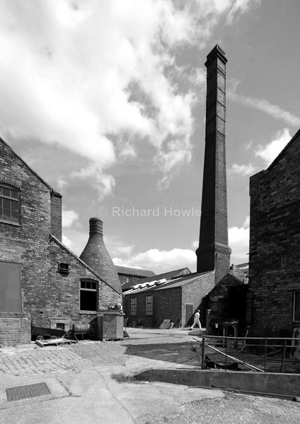 The Potbank Yard - Potteries Images