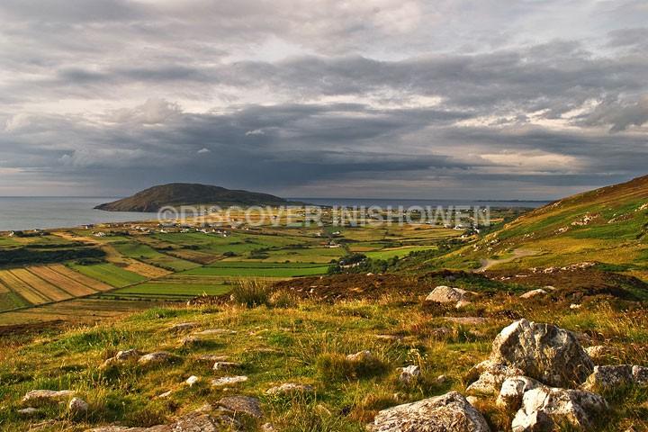 View from Mamore Gap - Inishowen peninsula