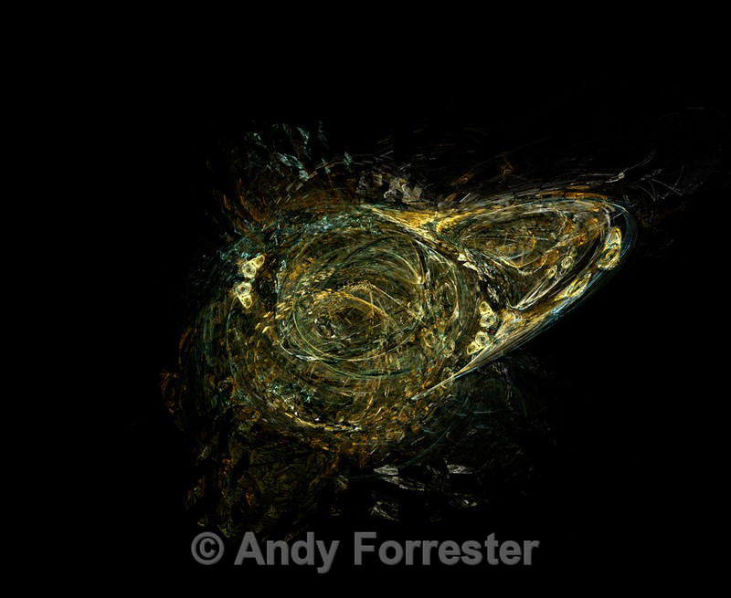 Loch Ness monster? - Apophysis Art