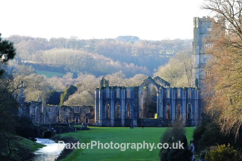 View From Anne Boleyn's Seat - Fountains Abbey