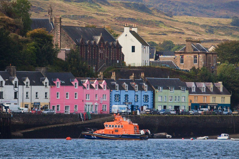 Portree harbour - Highlands and Islands