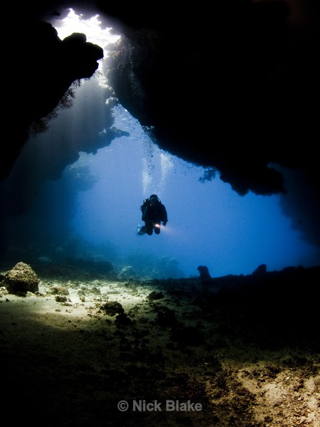 Diving the Caves of St Johns