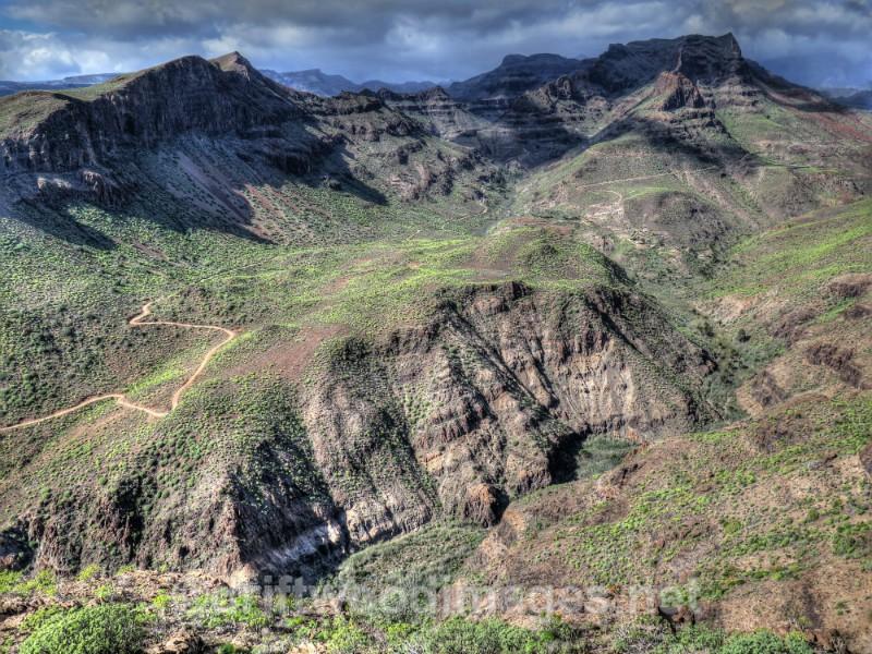 Gran Canaria mountains HDR - Gran Canaria