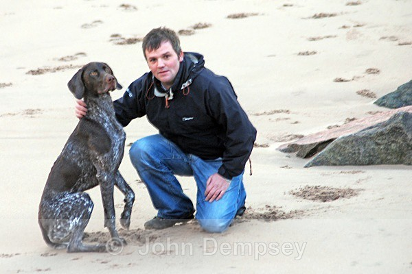 Billy  & Meeko - Walking the Dog