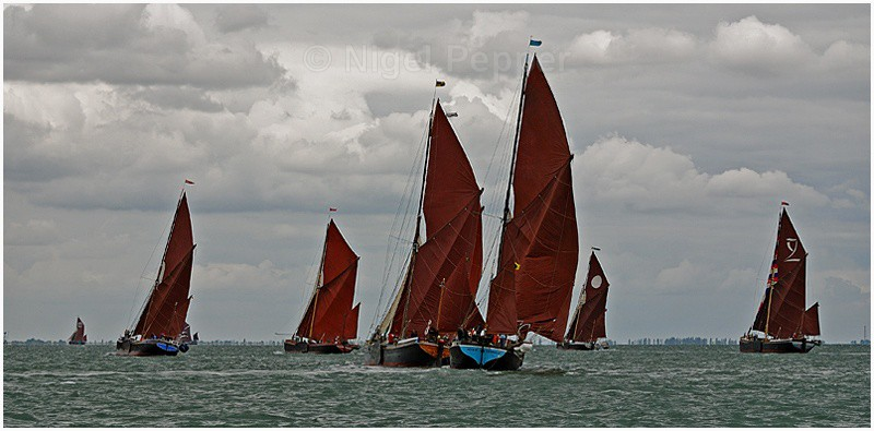 Rounding Outer Mark - The Thames Barge Match