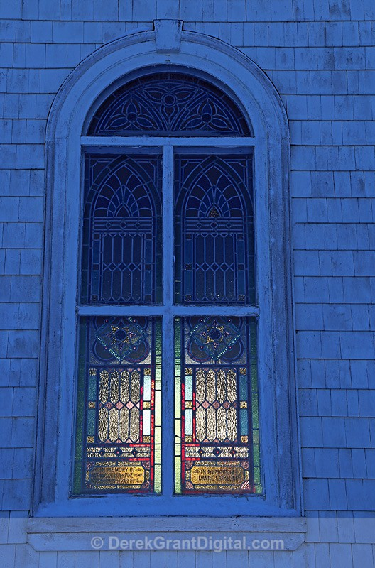 St. Luke's Stained Glass Window ~ Quispamsis,New Brunswick Canada - Churches of New Brunswick