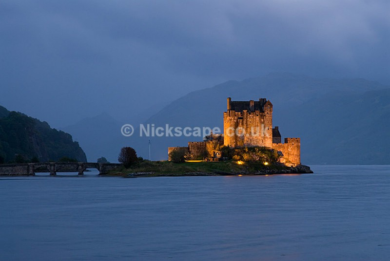 Photo of Eilean Donan Castle film location of Highlander - Scottish Landscape Photography
