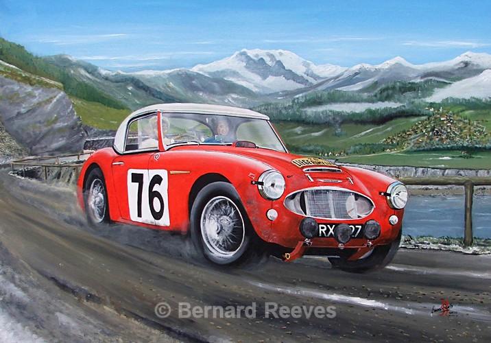 Austin Healey 3000 -Liege-Rome-Liege Rally 1960 - Rally cars & drivers