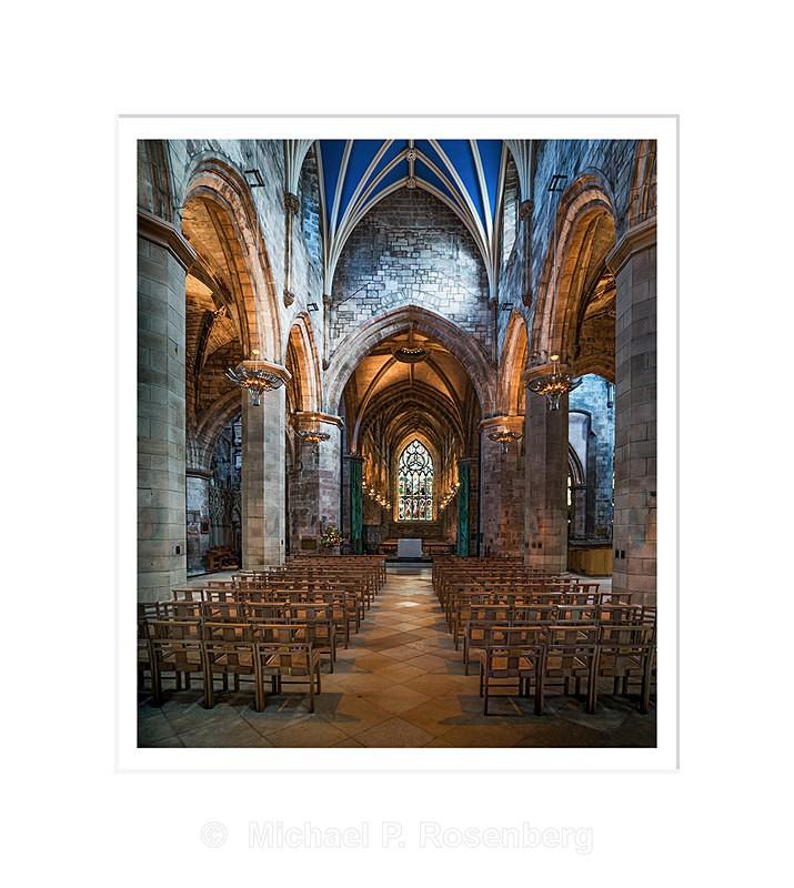 Transcept, St. Giles Cathedral, Edinburgh Scotland - Scotland, UK