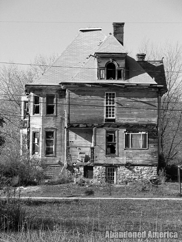 route 2 irregularities, west virginia - photographs by matthew christopher murray of abandoned america