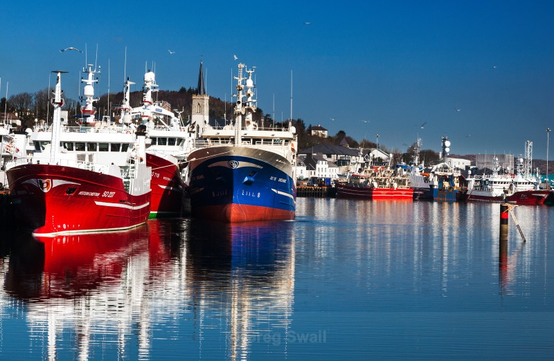 Killybegs Harbour - Landscapes of Ireland - County Donegal and the Wild Atlantic Way