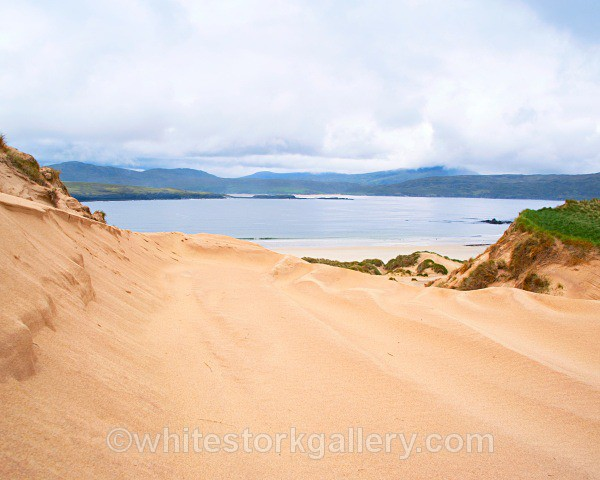 Sand Dune Views at Faraid Head - Scottish Highlands
