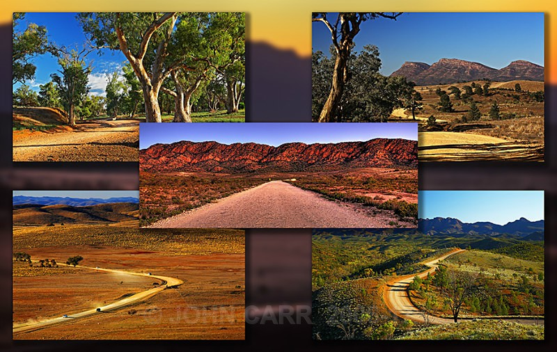 Flinders Roads Quintych-2 - MONTAGES